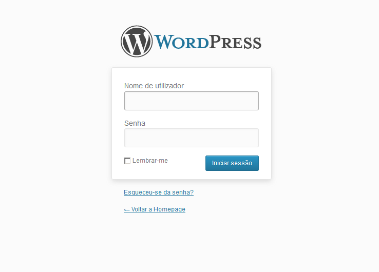 Como alterar a página de login do WordPress
