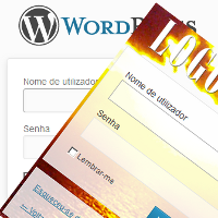 Como alterar a pagina de login de WordPress